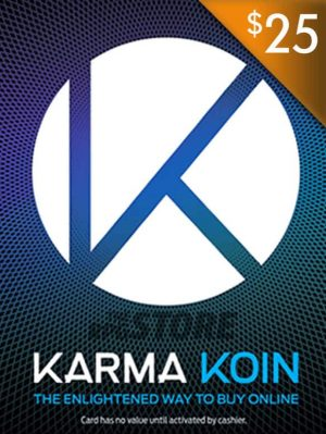 Karma Koin 25 USD Game Card