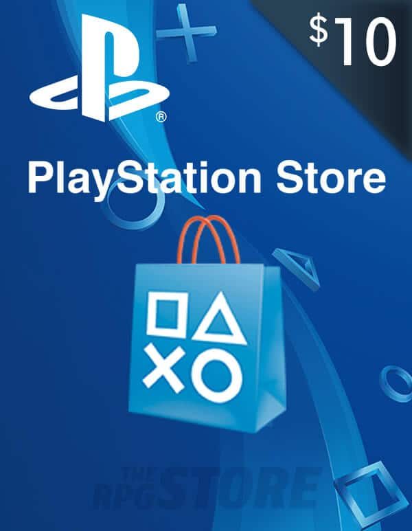 PlayStation Network Game Card 10 USD