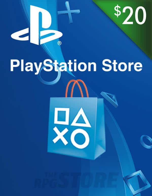 PlayStation Network Game Card 20 USD