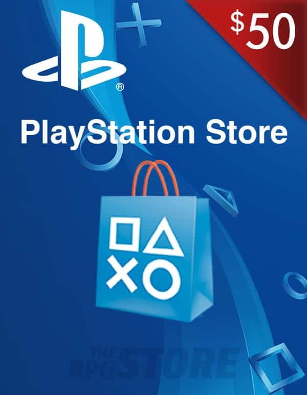 PlayStation Network Game Card 50 USD