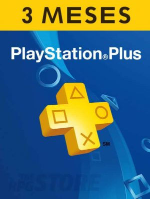 PlayStation Plus Card 3 Meses Suscripcion