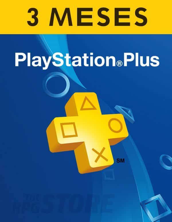 PlayStation Plus Card 3 Meses Suscripcion