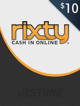Rixty Game Card 10 USD