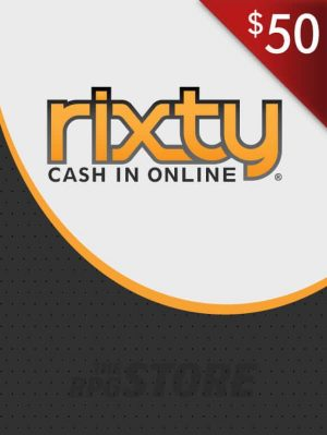 Rixty Game Card 50 USD