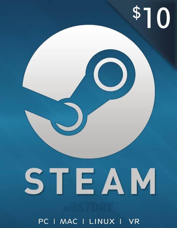 Steam Wallet 10 USD