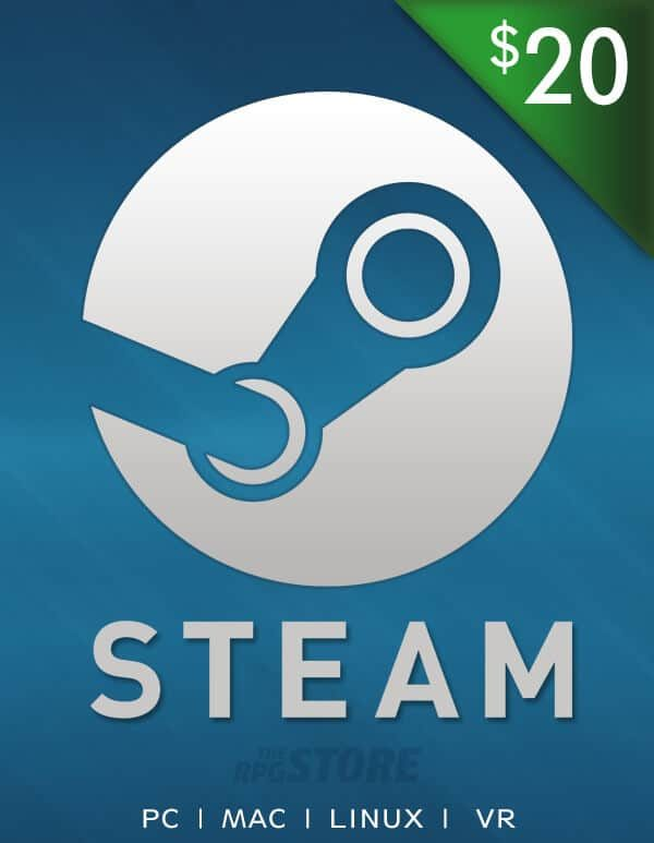 Steam Wallet 20 USD