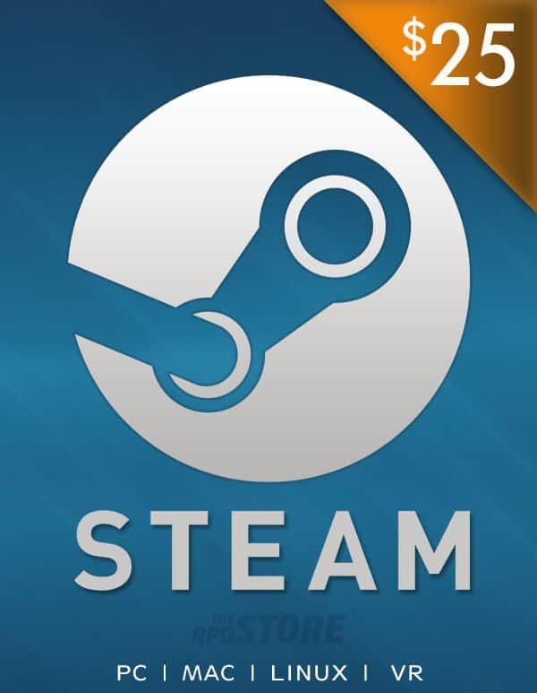 Steam Wallet 25 USD