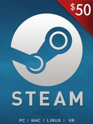 Steam Wallet 50 USD