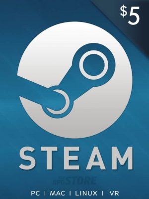 Steam Wallet 5 USD