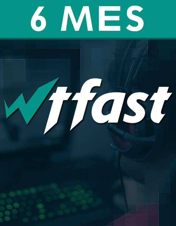 WTFast - 6 Meses