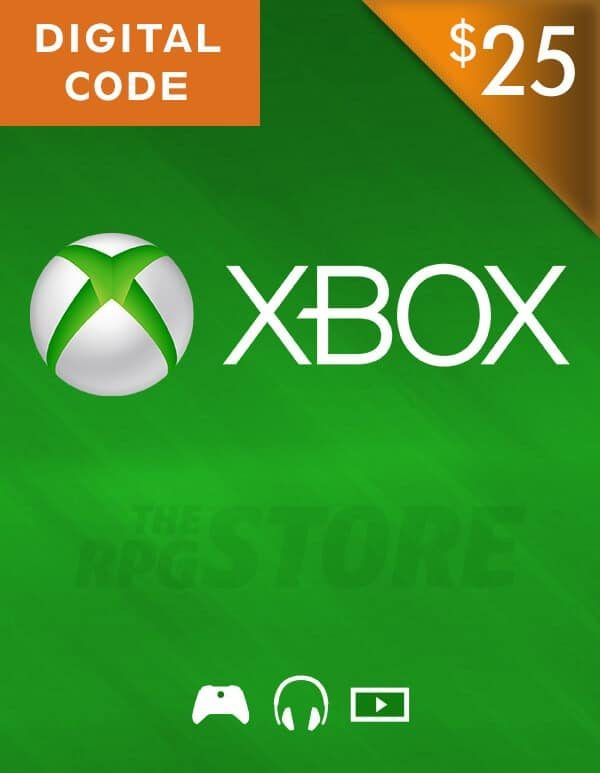 Xbox Live Gift Card 25 USD