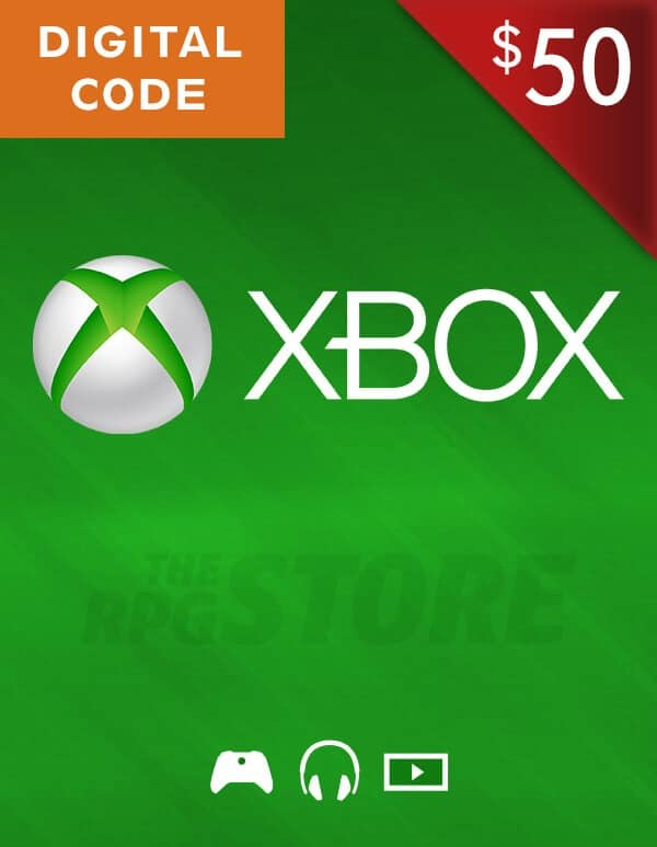 Xbox Live Gift Card 50 USD