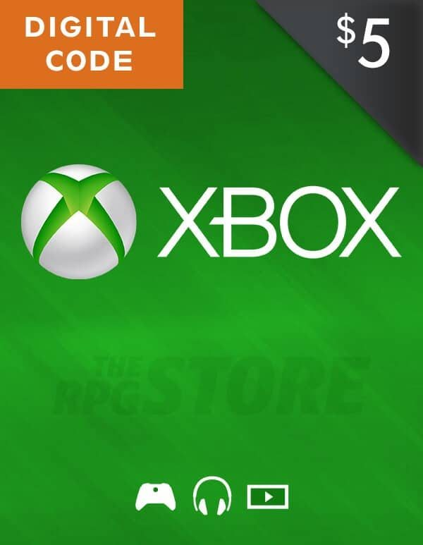 Xbox Live Gift Card 5 USD