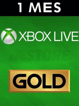 Xbox Live Gold 1 Mes Suscripcion