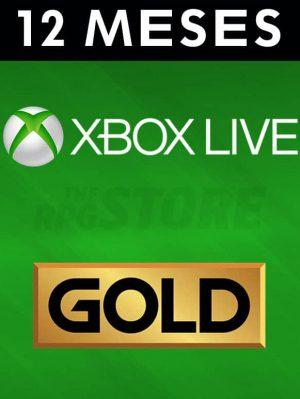 Xbox Live Gold 12 Meses Suscripcion