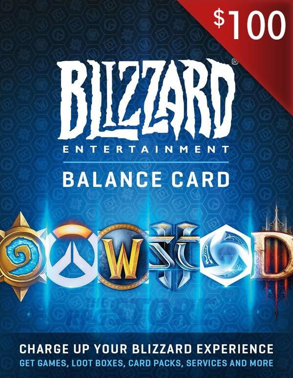 Battlenet Gift Card 100 USD