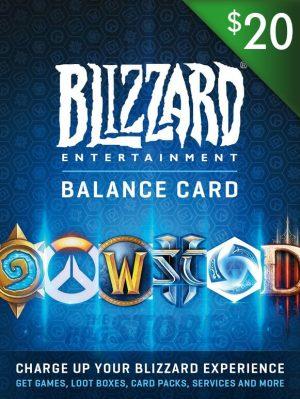 Battlenet Gift Card 20 USD