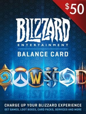 Battlenet Gift Card 50 USD