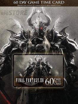FINAL FANTASY XIV: Game Time Card 60 Días US