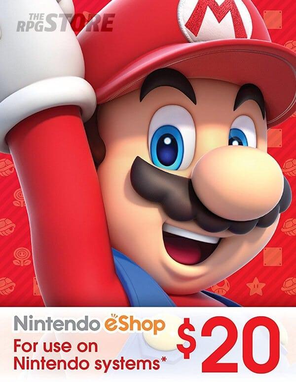 Nintendo eShop Card 20 USD