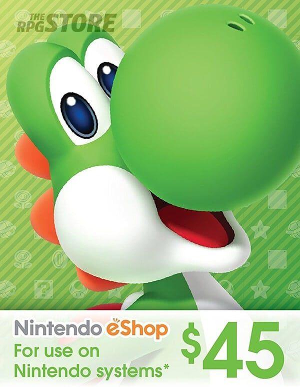 Nintendo eShop Card 45 USD