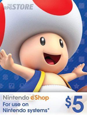 Nintendo eShop Card 5 USD