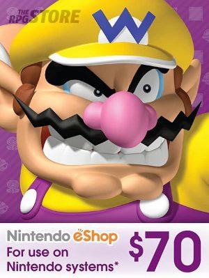Nintendo eShop Card 70 USD