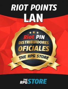 Compra Codigo Riot Points LAN en Bolivares, USD, Paypal. Entrega Inmediata de Riot Pin. Distribuidores oficiales de RP LAN Venezuela, RP LAN Colombia, RP LAN Chile, RP LAN Panama, RP LAN Ecuador, RP LAN Argentina, RP LAN Peru.