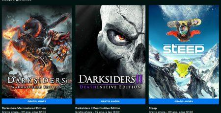 Epic Games Regala 3 juegos hasta el 9 de Enero 2020