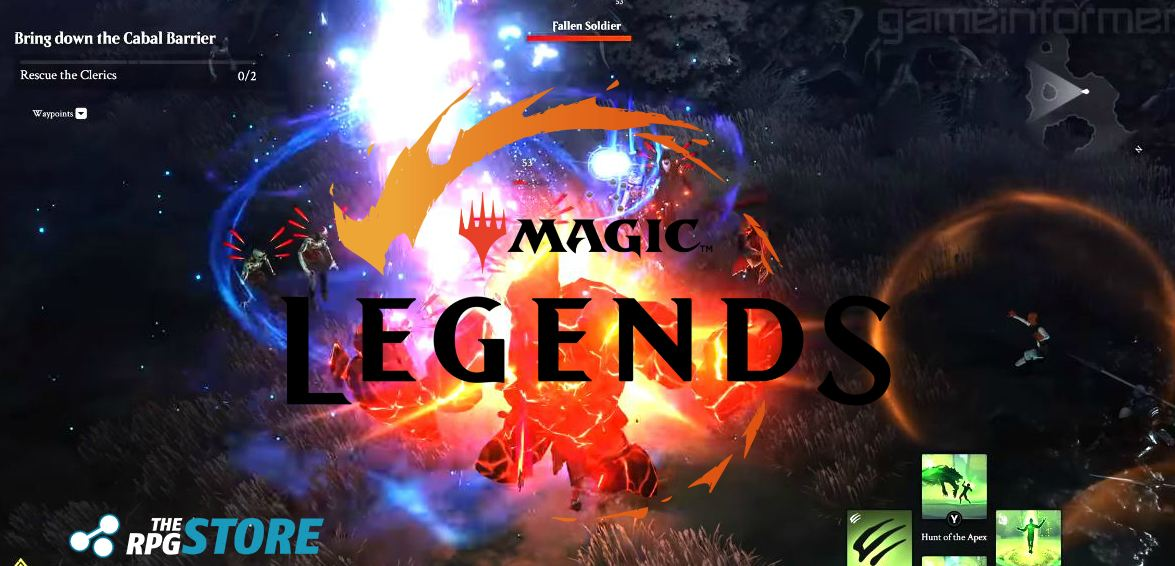 Magic Legends Gameplay
