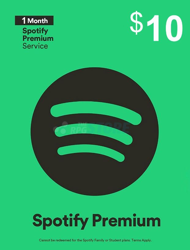 Spotify 10 USD Gift Card Premium