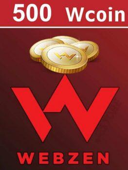 Webzen 500 Wcoin EPIN