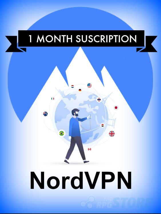 NordVPN 1 Mes de Suscripcion