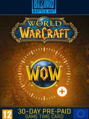 World of Warcraft 30 Dias Europa