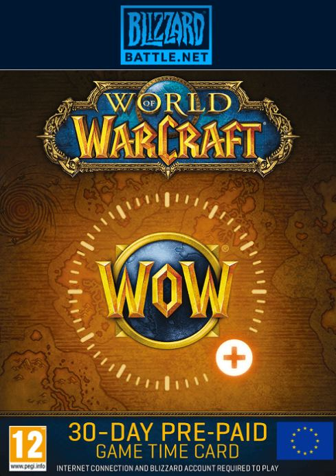 World of Warcraft 30 Dias Europa