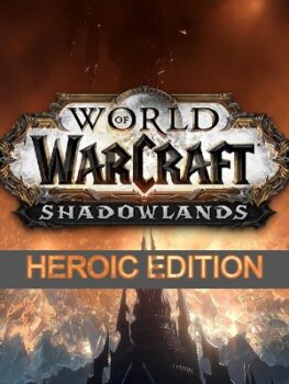 World of Warcraft Shadowlands Heroic Edition Battlenet Game Key USA-LATAM