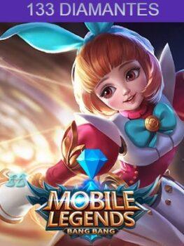Mobile Legends 133 Diamantes