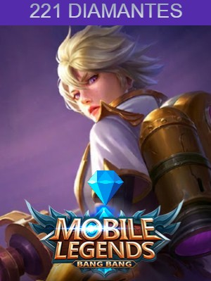 Mobile Legends 221 Diamantes