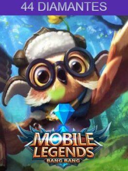 Mobile Legends 44 Diamantes Codigo PIN