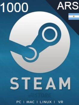 Steam Gift Card 1000 ARS