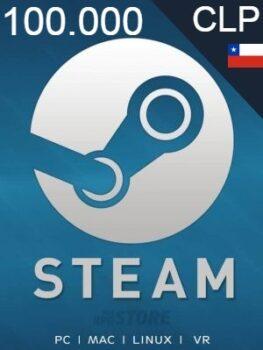 Steam Gift Card 100000 CLP