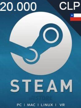 Steam Gift Card 20000 CLP