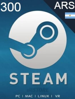 Steam Gift Card 300 ARS
