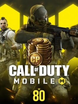 Call Of Duty Mobile 80 CP