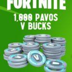 Fortnite 1000 Pavos V Buck