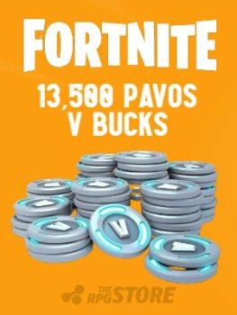 Fortnite 13500 Pavos V Buck