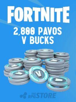Fortnite 2800 Pavos V Buck