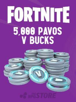 Fortnite 5000 Pavos V Buck
